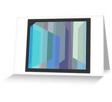 TV Visage Greeting Card