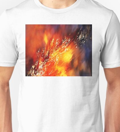 Fire Below Unisex T-Shirt
