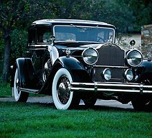 1931 Packard 845 Deluxe Eight Sports Sedan I by DaveKoontz