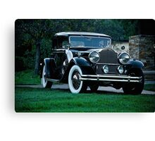 1931 Packard 845 Deluxe Eight Sports Sedan I Canvas Print