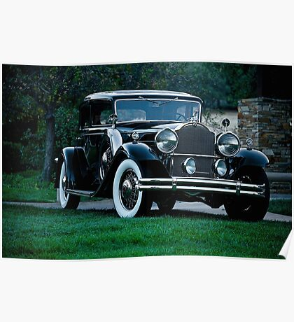 1931 Packard 845 Deluxe Eight Sports Sedan I Poster