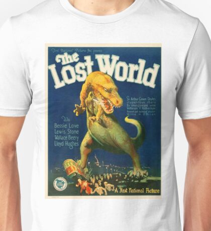 Vintage poster - The Lost World Unisex T-Shirt