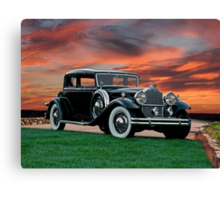 1931 Packard 845 Deluxe Eight Sports Sedan II Canvas Print