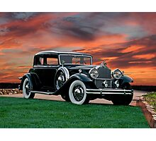 1931 Packard 845 Deluxe Eight Sports Sedan II Photographic Print