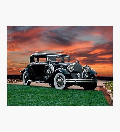 1931 Packard 845 Deluxe Eight Sports Sedan II Photographic Print