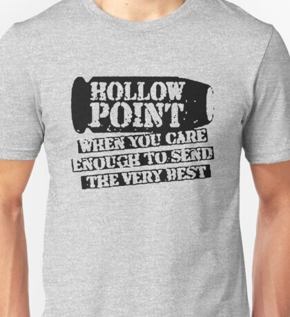 Hollow Point Bullet Funny Unisex T-Shirt