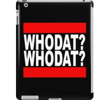 Iggy Azalea - Who dat? iPad Case/Skin