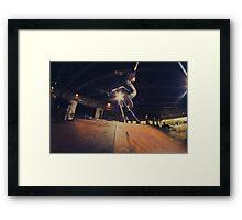The Skate Files - #1 | Logan Square Skate Park Framed Print