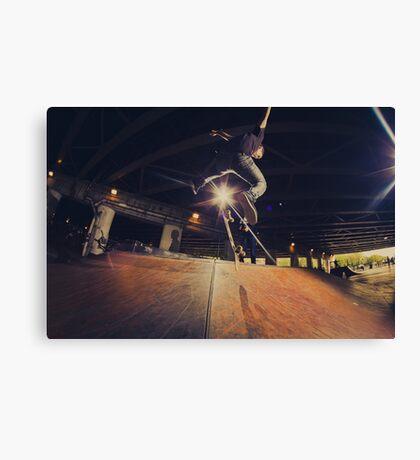 The Skate Files - #1 | Logan Square Skate Park Canvas Print