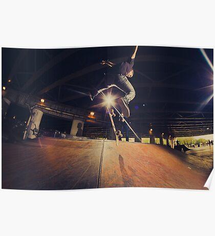 The Skate Files - #1 | Logan Square Skate Park Poster