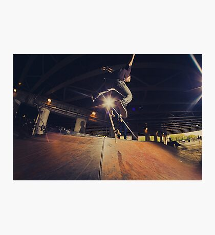 The Skate Files - #1   Logan Square Skate Park Photographic Print