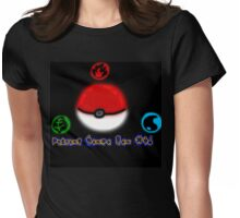 Playing pokemon since gen 1 Womens Fitted T-Shirt