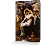 pieta ( william adolphe bouguereau ) Greeting Card