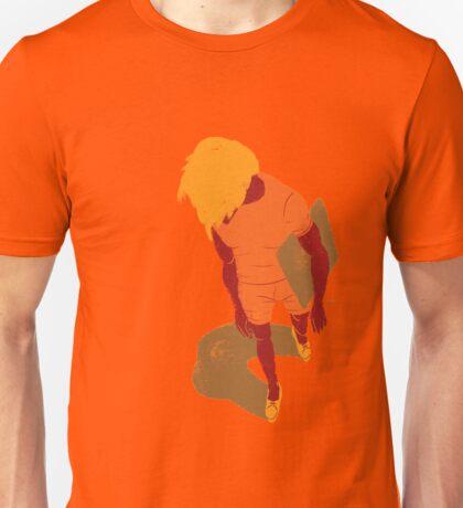 100 Days. Guy top view foreshortened. Unisex T-Shirt