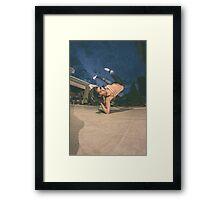 The B-Girl Files #2 | VITAL Framed Print