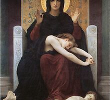 virgin mary ( william adolphe bouguereau ) by spiceboy