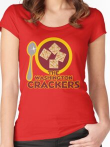 The Washington Crackers Women's Fitted Scoop T-Shirt