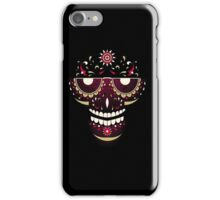 Skull Smiling Face iPhone Case/Skin