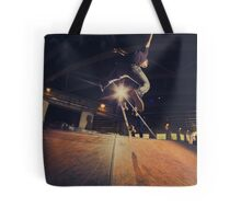 The Skate Files - #1 | Logan Square Skate Park Tote Bag
