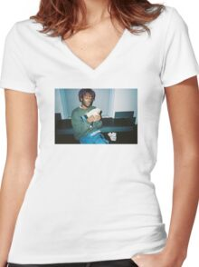 Lil Uzi Vert - Counting Money Women's Fitted V-Neck T-Shirt
