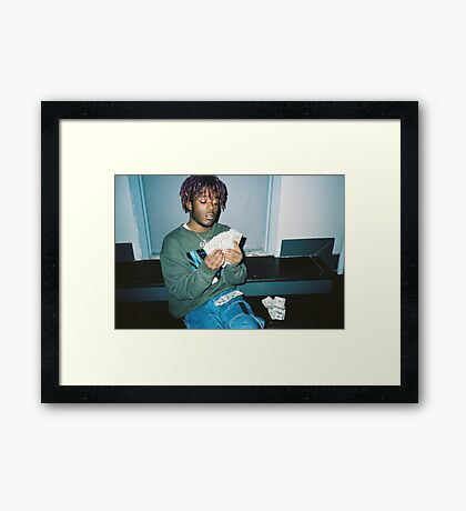Lil Uzi Vert - Counting Money Framed Print