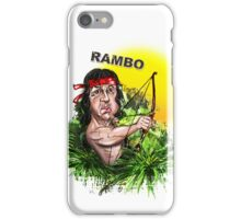 Rambo iPhone Case/Skin