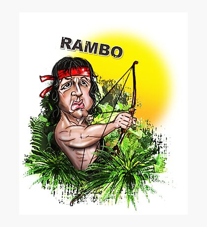Rambo Photographic Print