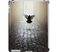 Morning impression with a dove iPad Case/Skin
