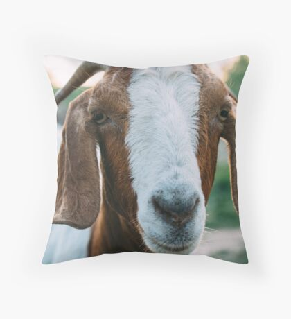 Goat Throw Pillow