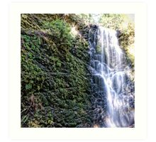 Cascading Water Art Print