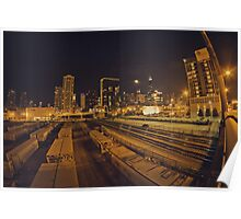 The Chicago Files - #1 | Halsted Rail Yard Poster