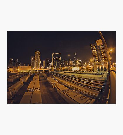 The Chicago Files - #1 | Halsted Rail Yard Photographic Print