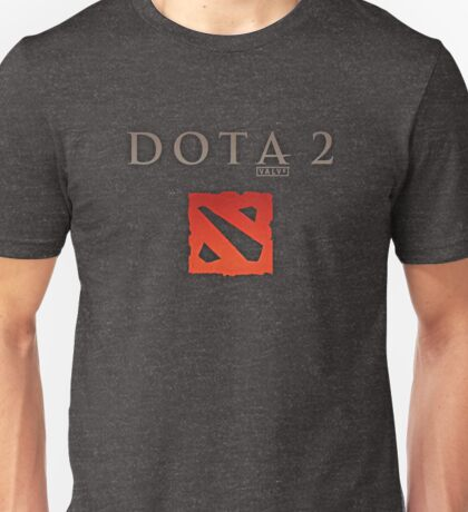 Dota 2 Logo - Valve Unisex T-Shirt