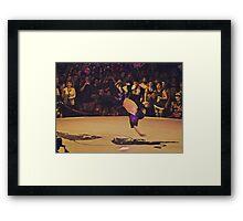 The B-Boy Files - #9 | Blind Power | B-Boy Evol Framed Print