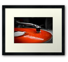 Needle to the Record | TURNTABLISM Framed Print