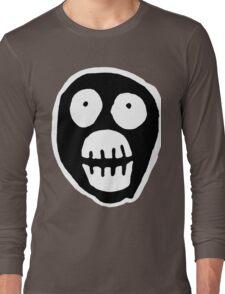 Mighty boosh head logo minimal Long Sleeve T-Shirt
