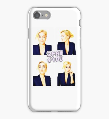 Gillian Anderson for Event magazine iPhone Case/Skin