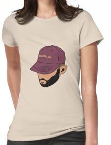 Jon Bellion Face illustation Womens Fitted T-Shirt