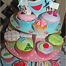 Shabby Chic Cupcakes by Mounty