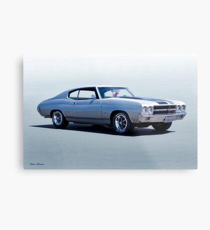 1973 Chevelle 396 Malibu Metal Print
