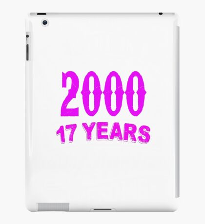 Born  in 2000 iPad Case/Skin
