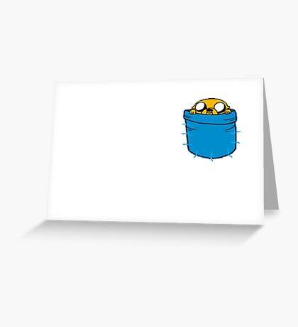 Adventure Time - Jake Greeting Card