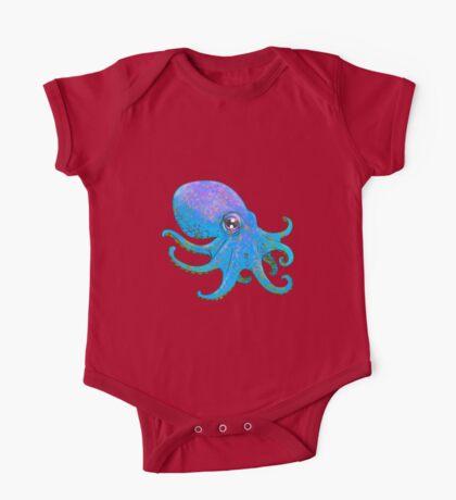 Octopus! - Blue One Piece - Short Sleeve