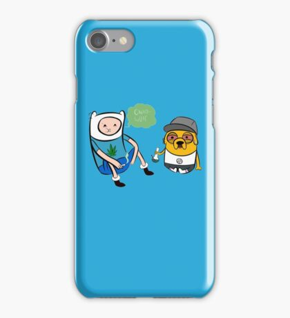 Adventure Time - Finn and Jake high iPhone Case/Skin