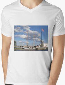 Let's Sail!  Mens V-Neck T-Shirt
