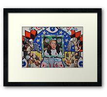 JESUS OZ Framed Print