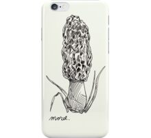Morel iPhone Case/Skin