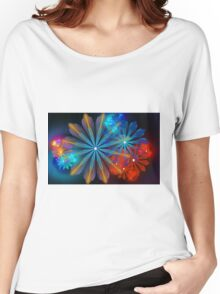 A Breath of Floral Women's Relaxed Fit T-Shirt