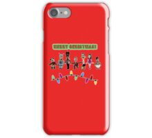 Stop Motion Christmas - Style F iPhone Case/Skin