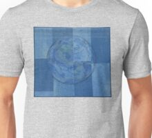 RECYCLED JEANS QUILT Unisex T-Shirt